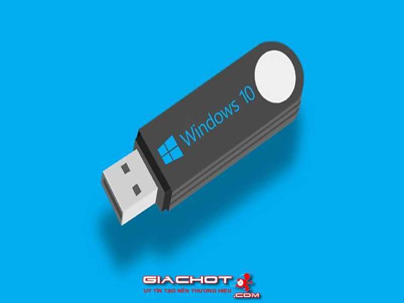 Huong dan cai va chay truc tiep Windows 10 tu tren o USB 0